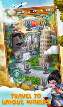 Match 3 World Adventure - City Quest screenshot 1