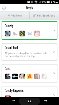 Sparksfly | Manage your social feeds in one App screenshot 3