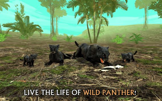 Wild Panther Sim 3D screenshot 1