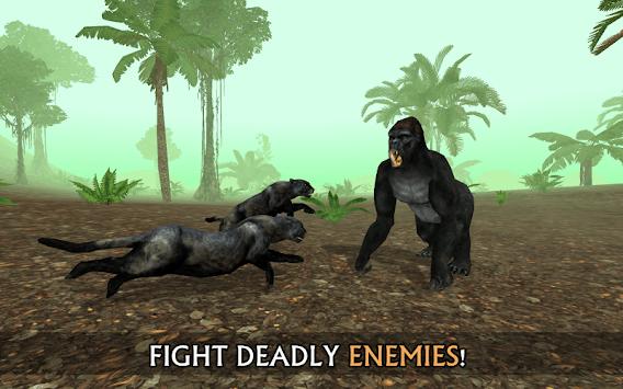 Wild Panther Sim 3D screenshot 2