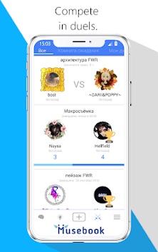 Musebook - Social network for creativity screenshot 3