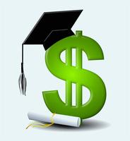 Scholarship graphic for inside page