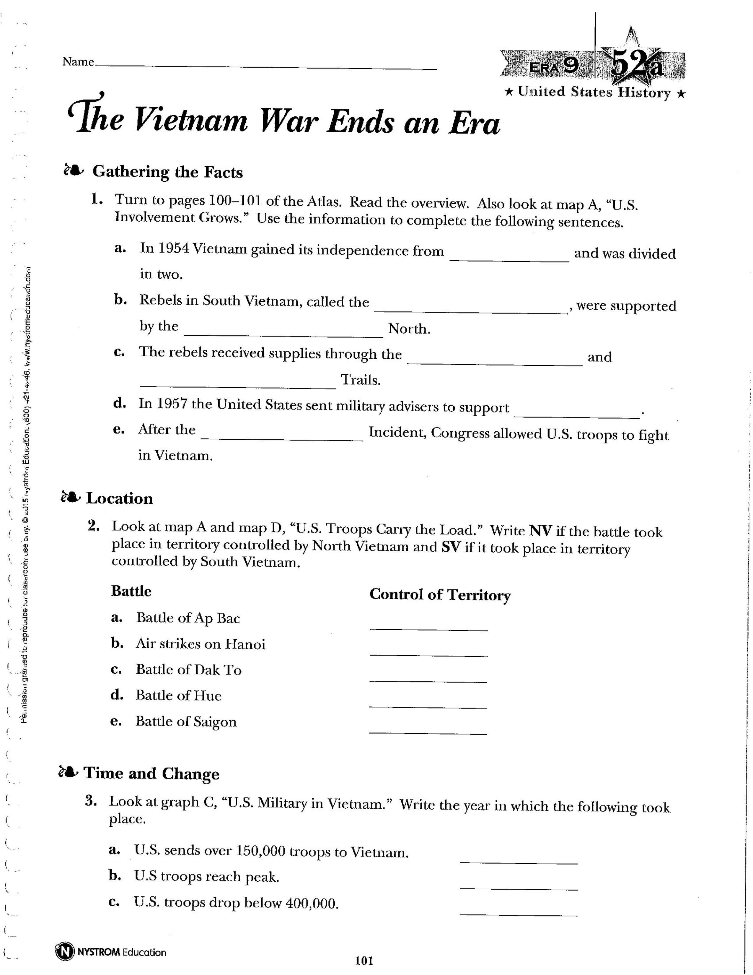 NAUSH 52 The Vietnam War Ends an Era - Amy Gilstrap ...