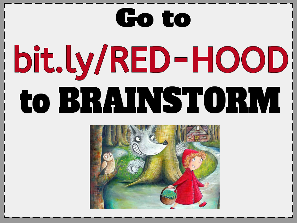 Little Red Riding Hood The Wolf By Roald Dahl Heather