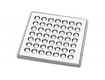 Kit Grelha Quadrada para Caixas Sifonadas e Ralos (Suporta até 100 kg)