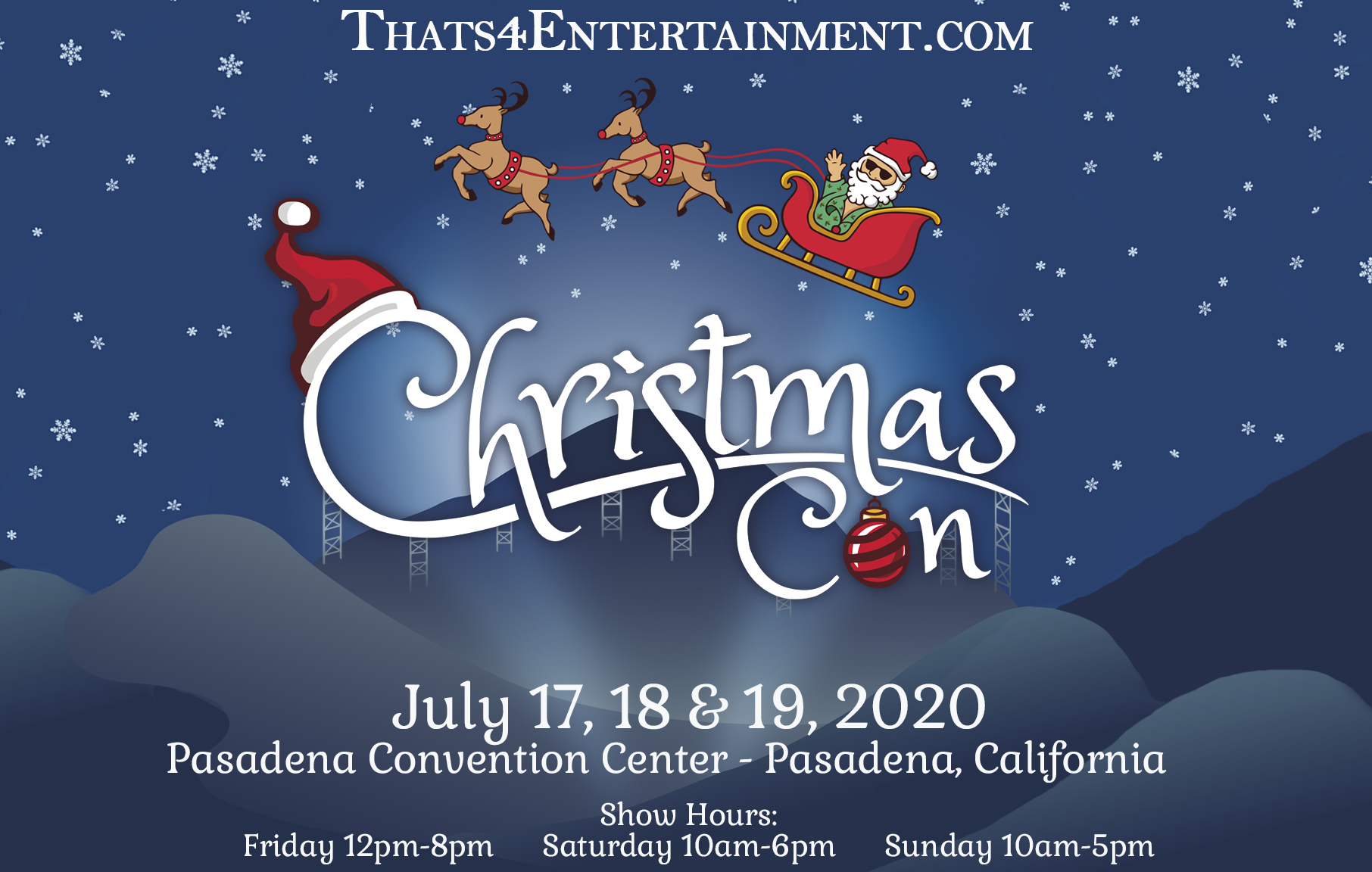 Christmas Con July 2020 Photo Ops