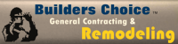 Builders Choice a dba of Choice Enterprises Logo