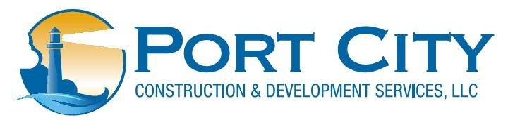 Port City Const. & Devel. Services, LLC Logo