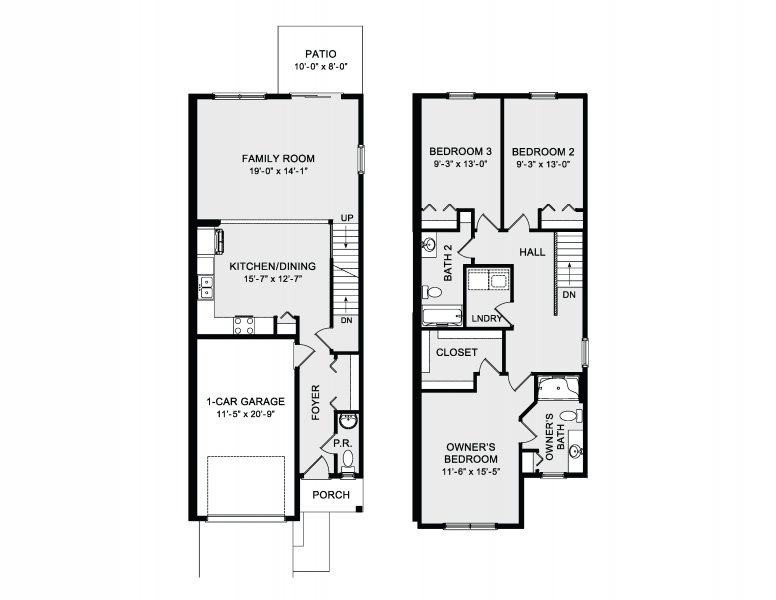 The Delaney Townhome Image
