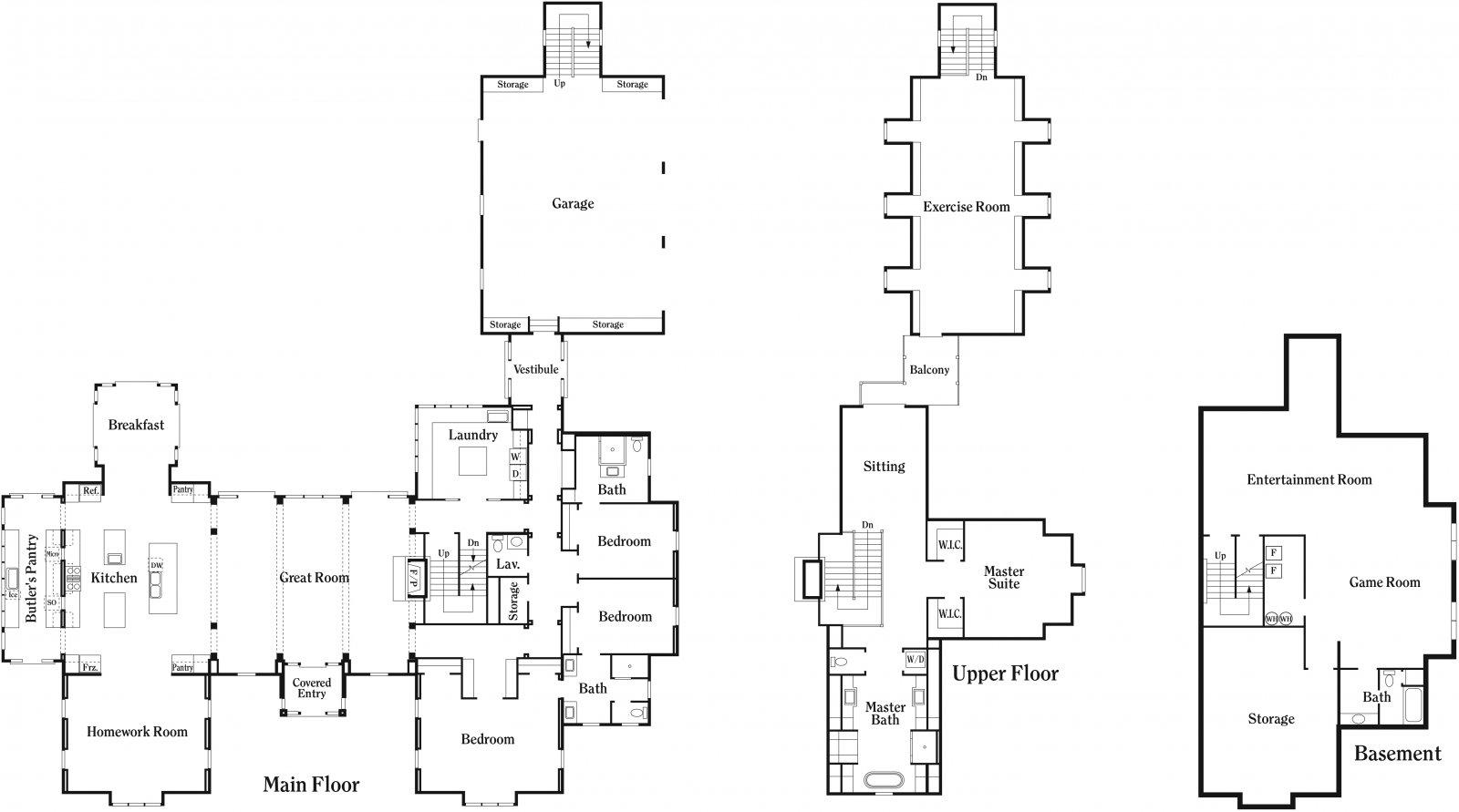 Utah parade of homes floor plans gurus floor for Utah home builders floor plans