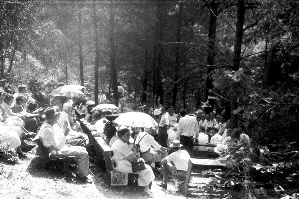 ​Photo credit: Old Regular Baptist meeting in Blackey, KY 1959. Courtesy of the Alan Lomax Archive.