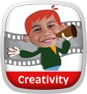 Cartoon Director Creativity App Icon