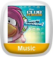 Disney Club Penguin The Party Starts Now Icon
