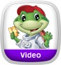 Math Adventure to the Moon Video App Icon
