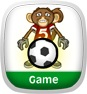 Monkey Football: Maths League Game App Icon
