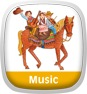 Putumayo Kids Presents Cowboy Playground Icon