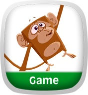 Stretchy Monkey Game App Icon
