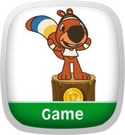 Squirrel Summertime Games Game App Icon