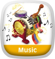 The Tuneables Music Box: I Love Music! Icon