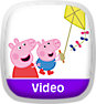 Peppa Pig: Flying a Kite Icon