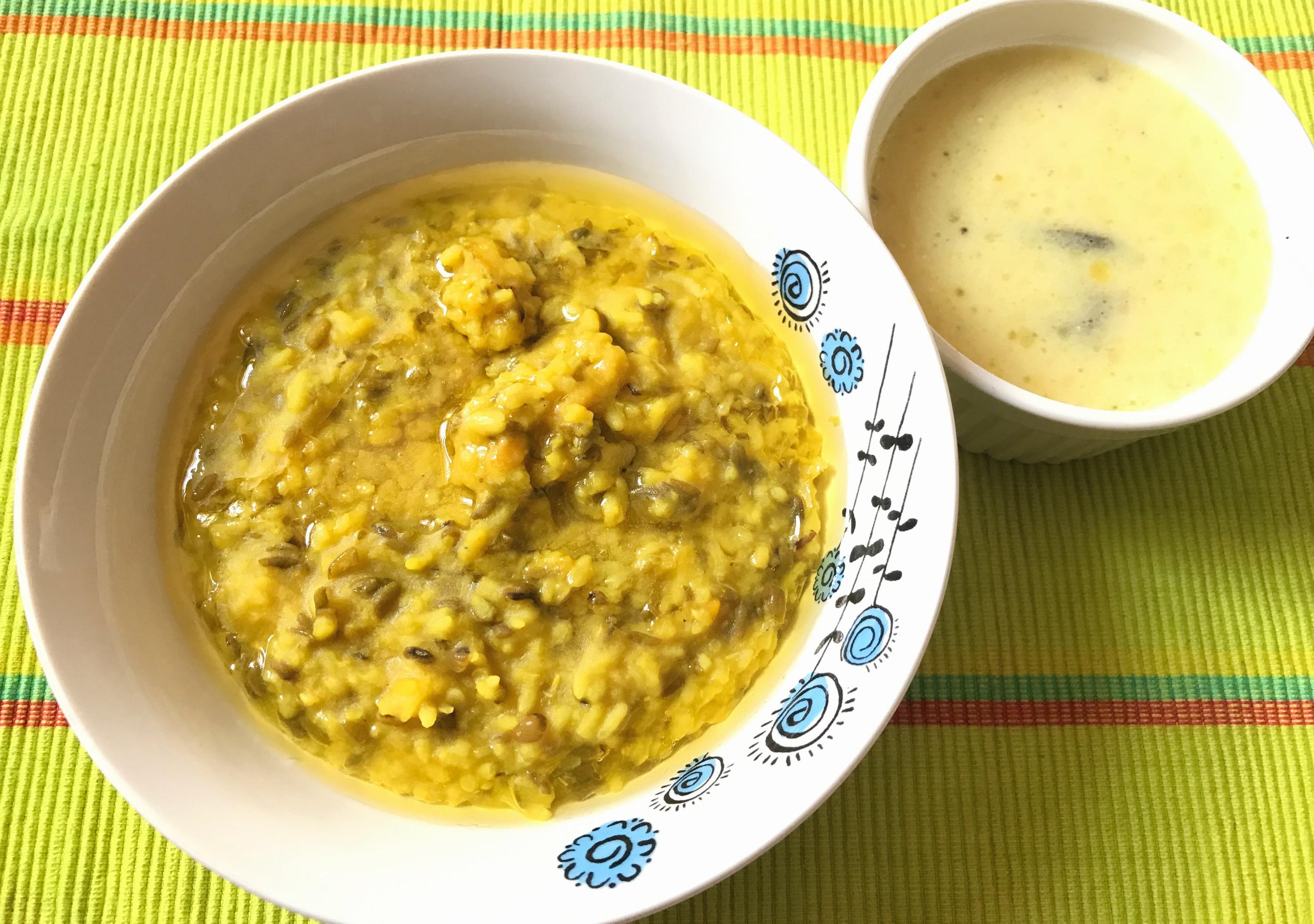 Green Moong Dal Khichdi - Your Veg Recipe