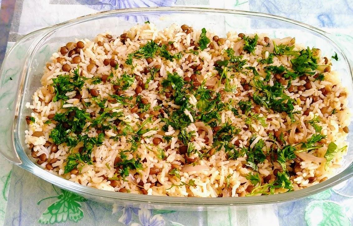 Masoor Ke Chawal (Red Lentil Rice)