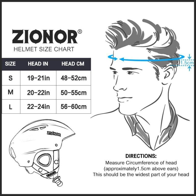 Helmet Fit Chart