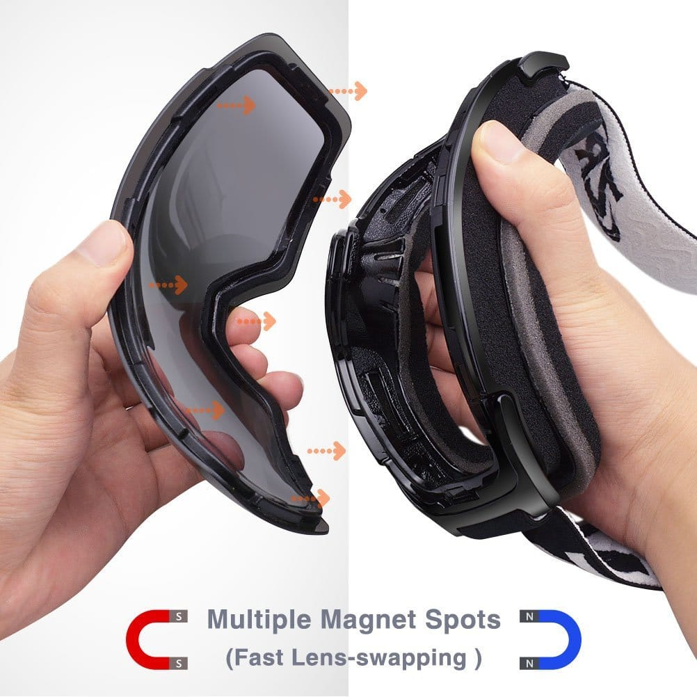 Swapping Magnetic Lenses