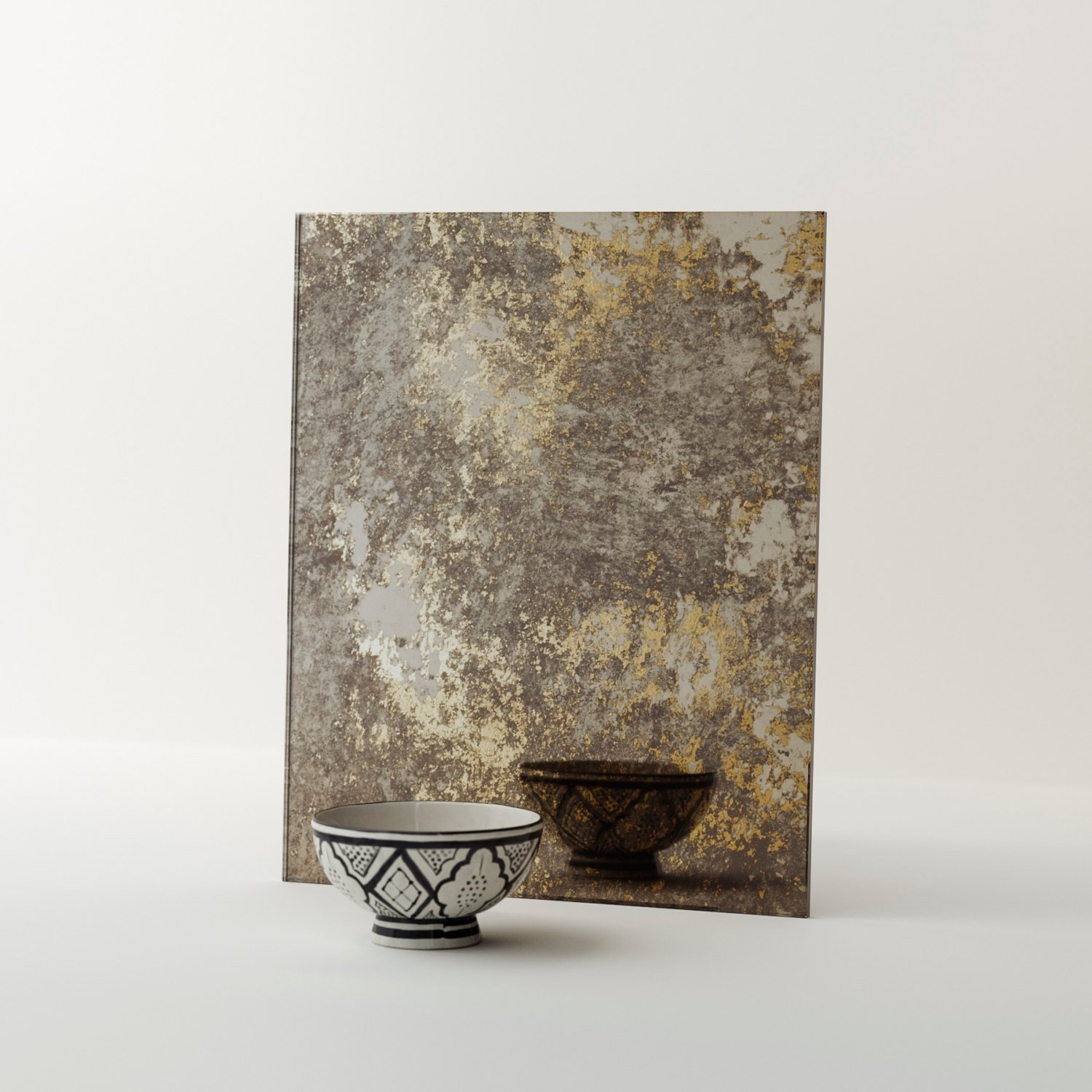 Golden Antiqued Mirror Available via MirrorCoop.com