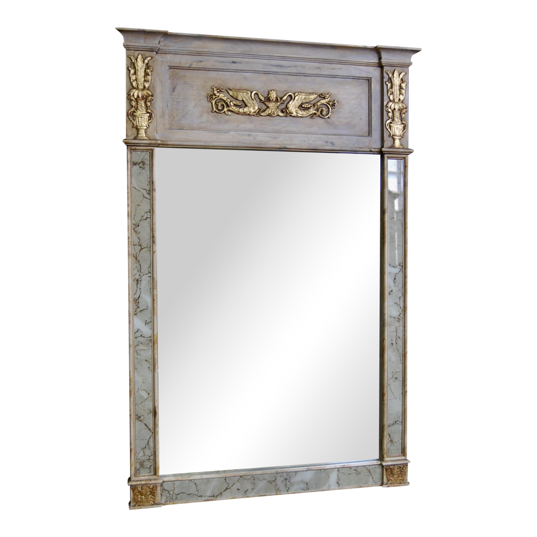 Decorative Trumeau Mirror