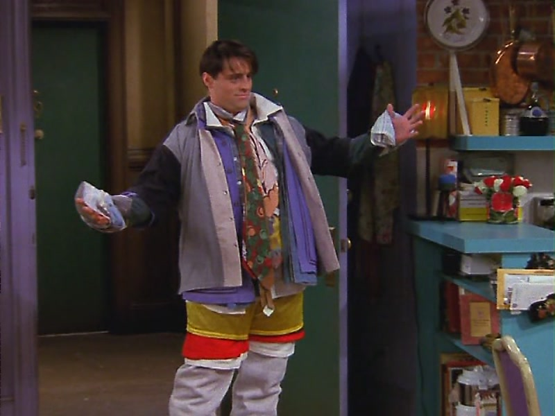 Joey Tribbiani Costume Idea