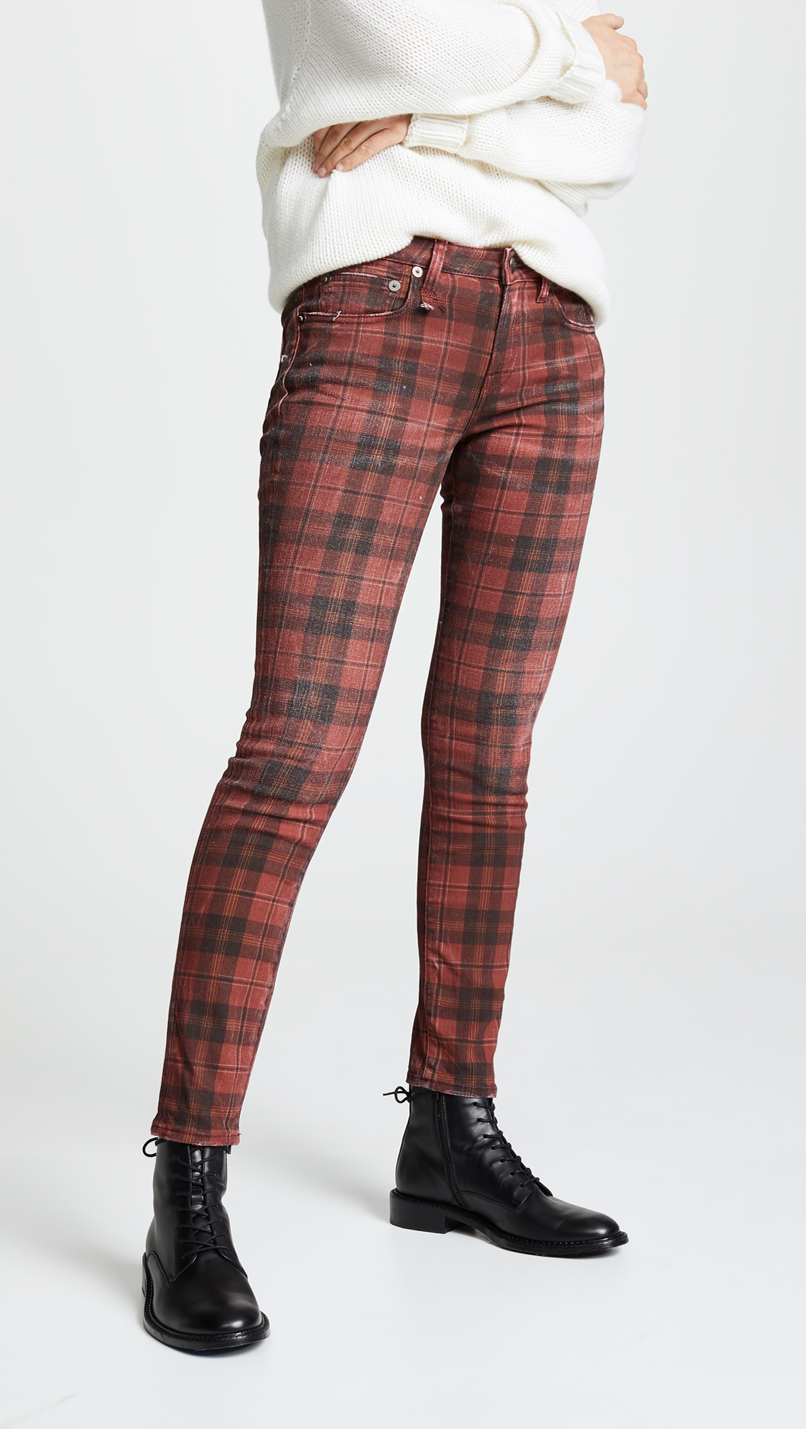 Kate Skinny in Plaid