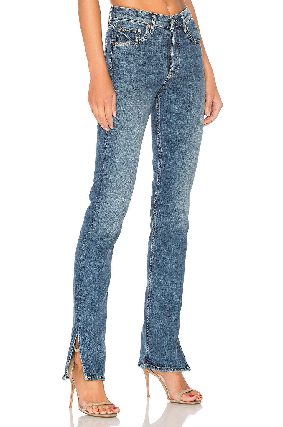 Natalia High Rise Skinny Split