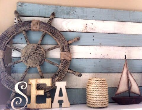 sea wall decor, marine deco