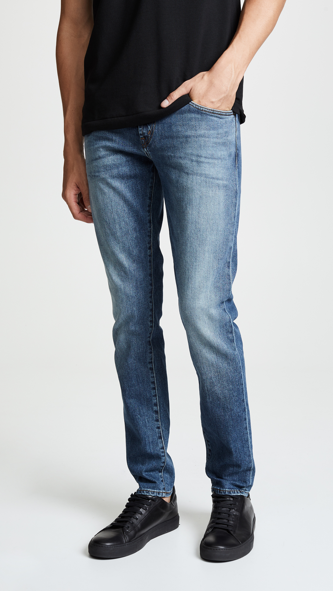 j brand jeans, men's stetch jeans, washed denim, skinny jeans, tapered jeans