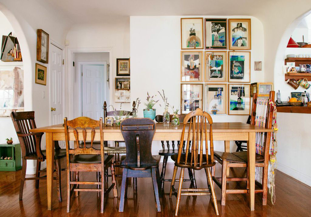 Dining Room WAll Decor Boho Wall From HonestlyWTF