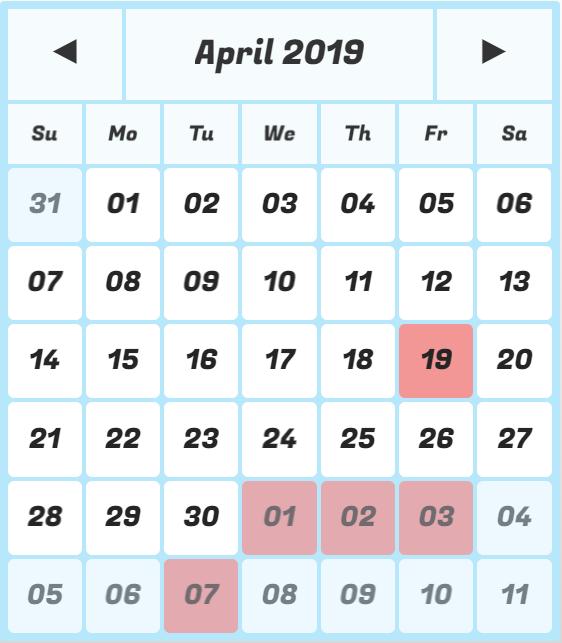 Calendar Grid Pro: Calendar Generator, Date Picker, Date