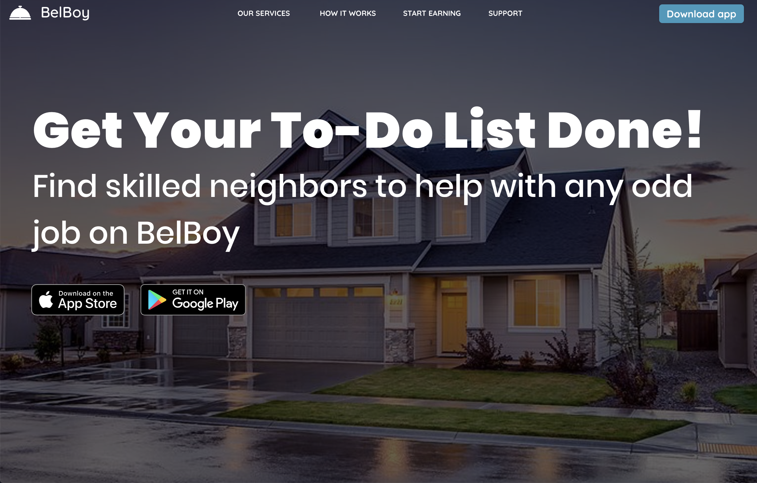 Hire skilled workers & earn extra cash on BelBoy com