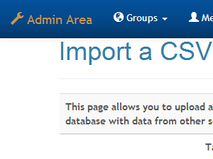 Import data from Excel and other data sources to your application.