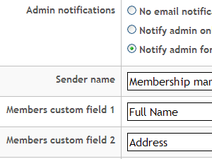Admin settings provide a lot of customizations that can be easily made to your application.