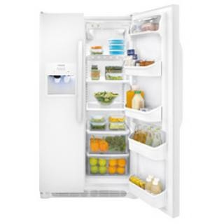 Frigidaire FFHS2611LW 26 cu. ft. Side by Side Refrigerator