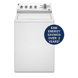 3.6 cu. ft. High-Efficiency Top-Load Washer - White