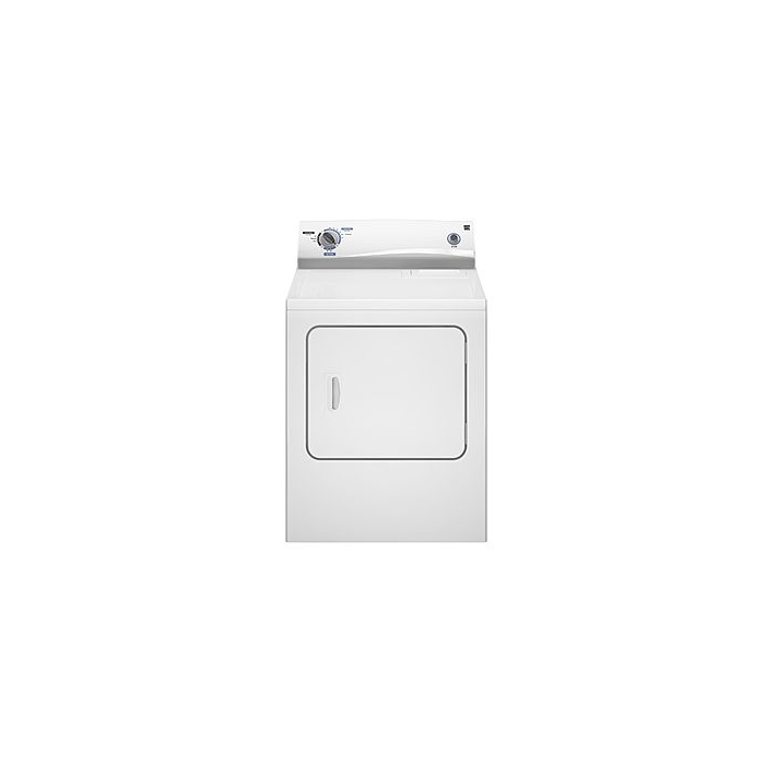 6.0 cu. ft. Electric Dryer - White