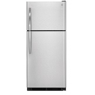 18.2 cu. ft. Top-Freezer Refrigerator - Stainless Steel