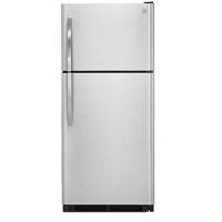 18.2 cu. ft. Top-Freezer Refrigerator - Stainless Steel
