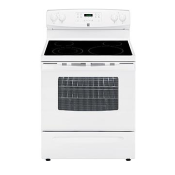 Kenmore 53 cu ftSelf Cleaning Electric Range White 94172D