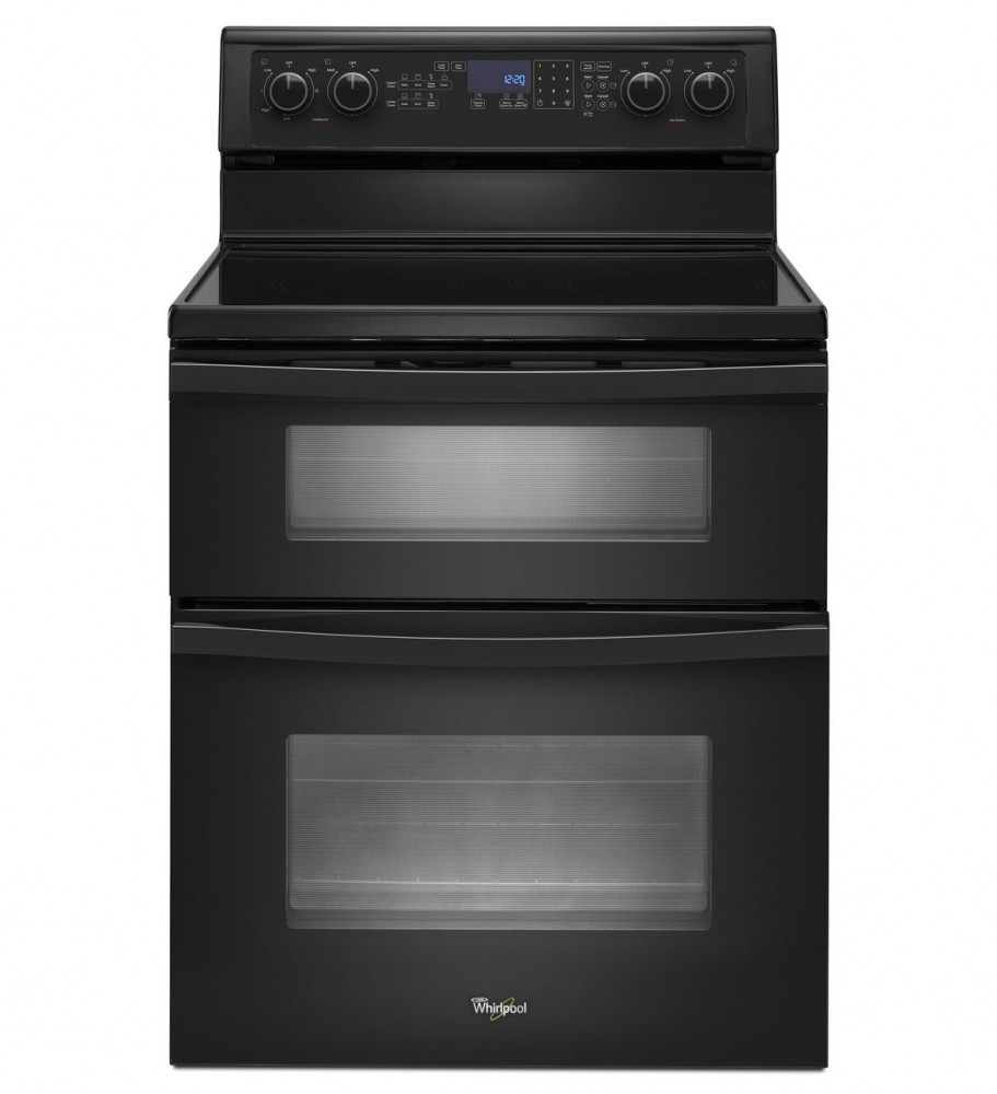 Whirlpool 67 Total Cu Ft Double Oven Electric Range With Accubake System