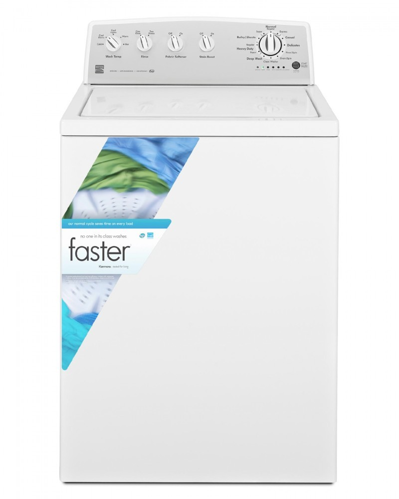 Kenmore 3.8 cu. ft. Top-Load High-Efficiency Washer