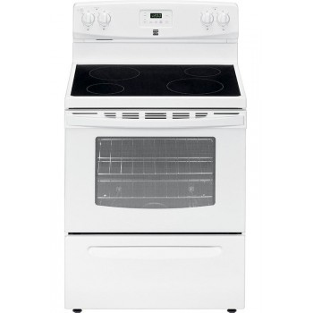 Kenmore 4.9 cu. ft. Electric Range - Versatility and Convenience