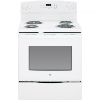 GE Freestanding 5.3-cu ft Self-Cleaning Electric Range